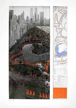 Christo und Jeanne-Claude The Gates XXXVII