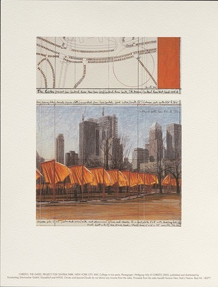 Christo The Gates XXIV (unsigniert)