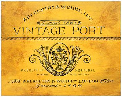 Angela Staehling Vintage Port