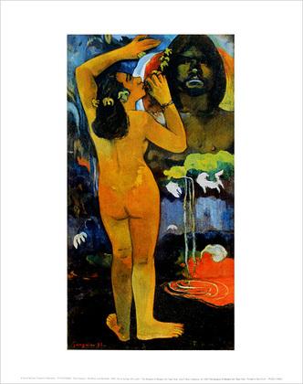 Paul Gauguin The Moon and the Earth