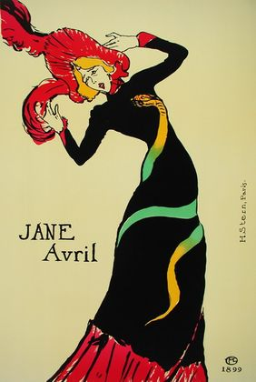 Henri Toulouse-Lautrec Jane Avril   1899