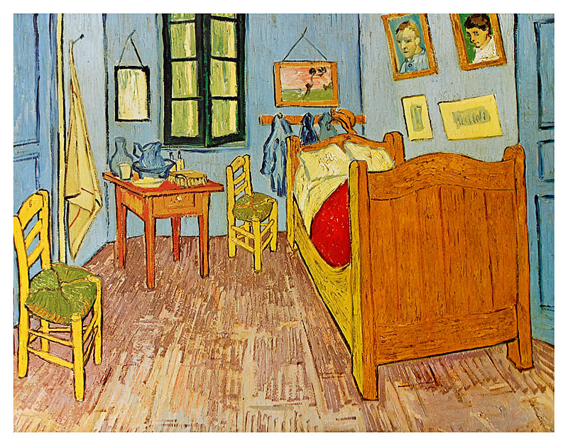 Van Gogh Bedroom   Vincent Van Gogh Bedroom In Arles Poster Kunstdruck Bei Germanposters De