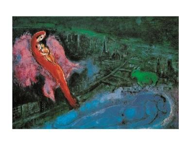 Chagall marc i ponti sulla senna 62992 large