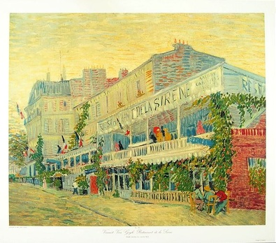 Vincent van Gogh Restaurant de la Sirene
