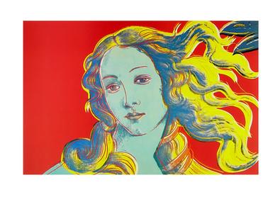 Andy Warhol Venus rot