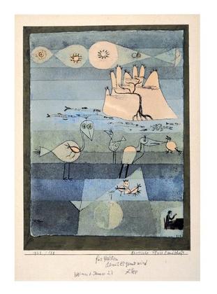 Paul Klee Exotische Flusslandschaft