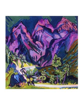 Ernst Ludwig Kirchner Sertigberge