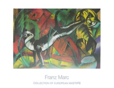 Franz Marc Drei Katzen