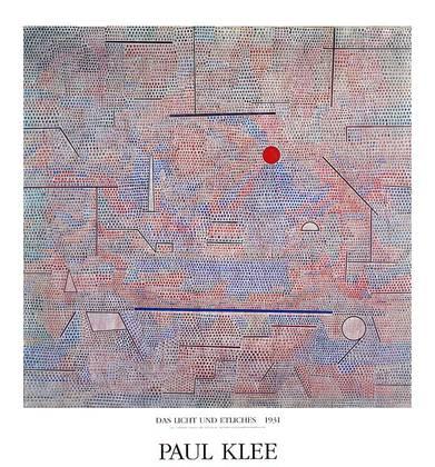 Paul Klee Das Licht und Etliches, 1931