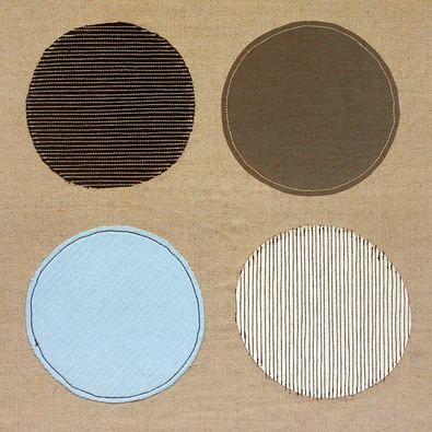 Paula Aspery 2er Set 'Fabric Circle' + 'Abacus'