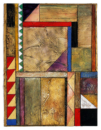 Arnold Iger Tile Study No. 1
