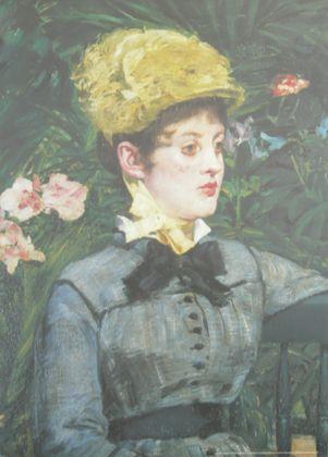 Edouard Manet Im Wintergarten