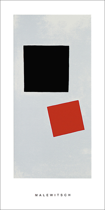 Kazimir Malevich Painting suprematism, 1915-16