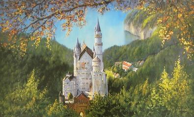 H. S. Clemens Schloss Neuschwanstein