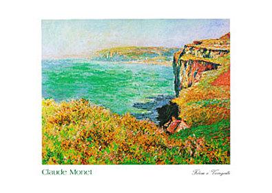 Claude Monet Falaise a Varengeville