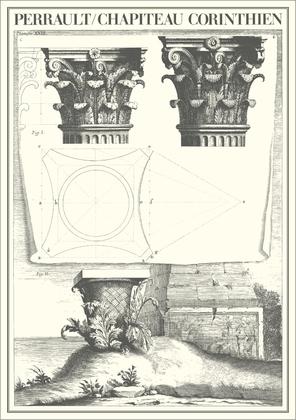Claude Perrault Chapiteau Corinthien