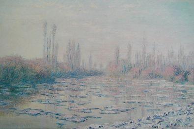 Claude Monet Treibende Eisschollen