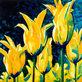 Karsten Kirchner Tulpen mit Blau