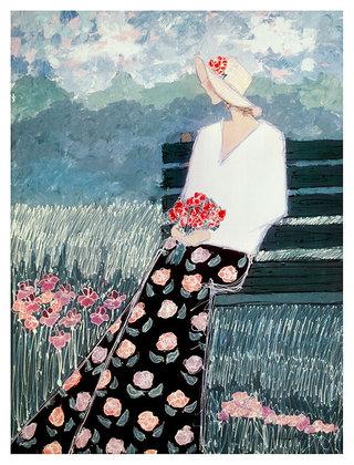 Katherine Parker Field of Flowers