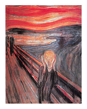 Edvard Munch The Cry