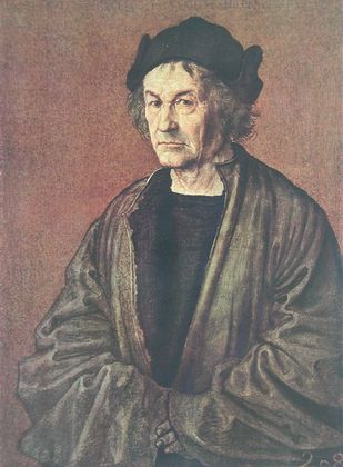 Albrecht Duerer Bildnis von Duerers Vater