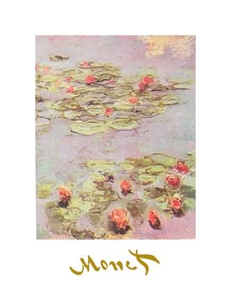 Claude Monet Rote Wasserlilien