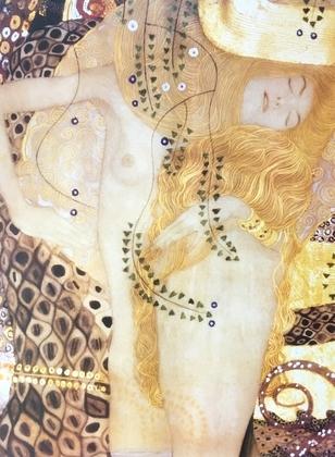 Gustav Klimt Sea Serpent