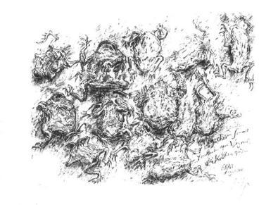 Guenter Grass In diesem Sommer trocknen am Wegrand die Kroeten aus, 2001