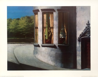 Edward Hopper August in der Stadt