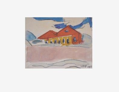 Max Pechstein Haus am Strand