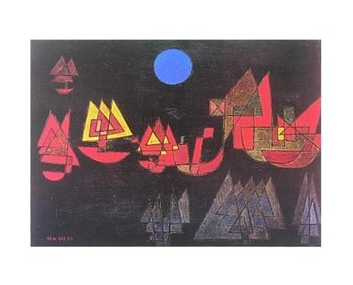 Paul Klee Schiffe im Dunkeln