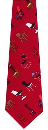 Olabuenaga adrian chairs red  krawatte  large