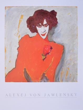 Alexej von Jawlensky Bildnis des Taenzers Alexander Sacharoff