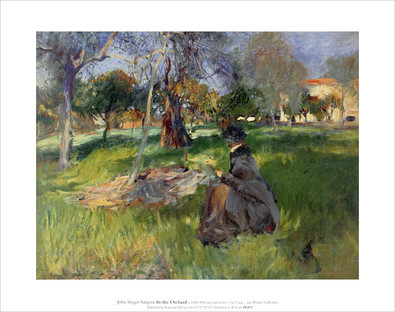 John Singer Sargent In an Orchard
