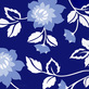 Moore diane 2er set bed of blue roses i ii medium