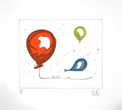 Claes Oldenburg Balloons