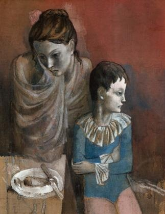 Pablo Picasso Mutter mit Kind