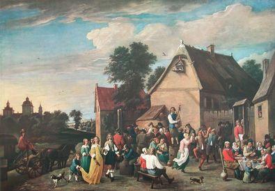 David Teniers Flaemische Kirmes
