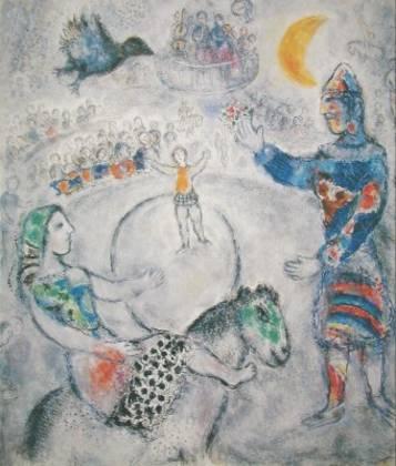 Marc Chagall Der grosse graue Zirkus