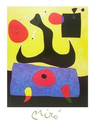 Joan Miro Femme assise