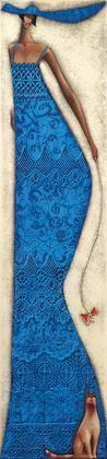 Ira Tsantekidou Lady in Blue