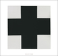 Malevich kazimir black cross medium