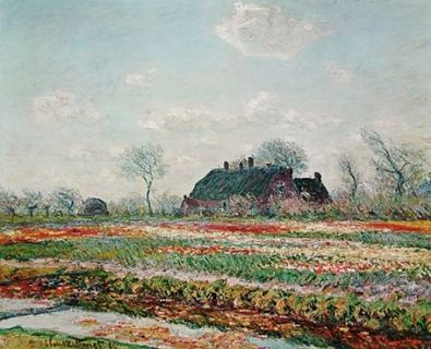 Claude Monet Tulpen in Sassenheim