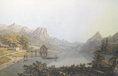 Jakob von Alt Der Grundlsee