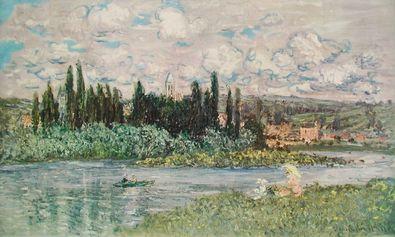 Claude Monet Ansicht von Vetheuil