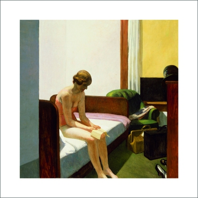 Edward Hopper Hotel Room, 1931