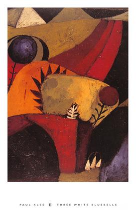 Paul Klee Three White Bluebells