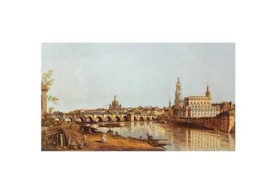 Canaletto Dresden Elbufer