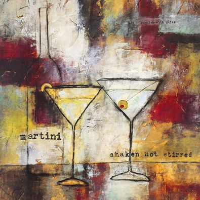 Jane Bellows Martini - Shaken not Stirred