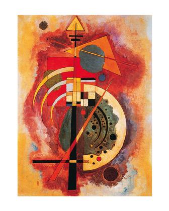 Wassily Kandinsky Hommage a Grohmann